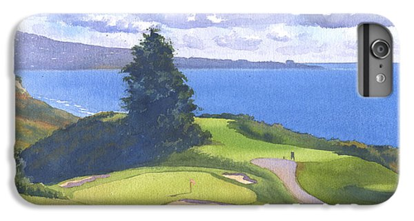 Torrey Pines Golf Course North Course Hole #6 IPhone 6 Plus Case by Mary Helmreich