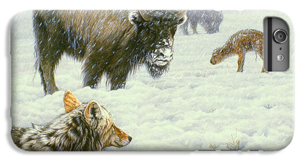 Buffalo iPhone 6 Plus Case - Tough Day In May by Paul Krapf