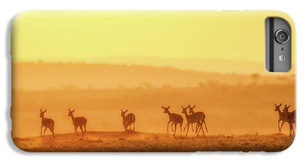 Africa iPhone 6 Plus Case - Towards Sunset by John Fan