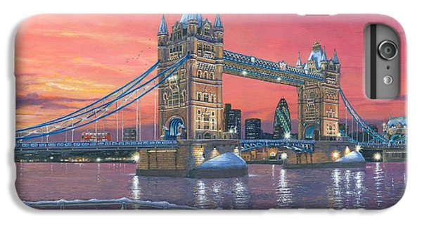 Tower Of London iPhone 6 Plus Case - Tower Bridge After The Snow by Richard Harpum