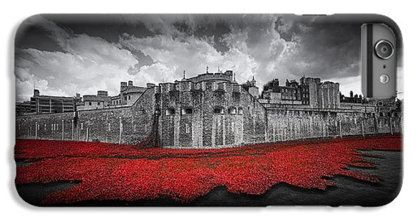 Tower Of London iPhone 6 Plus Case - Tower Of London Remembers by Ian Hufton