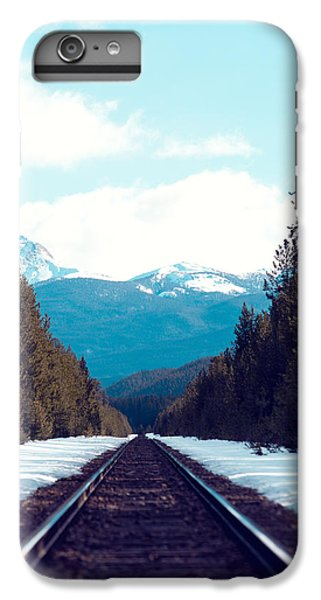 Train To Mountains IPhone 6 Plus Case by Kim Fearheiley