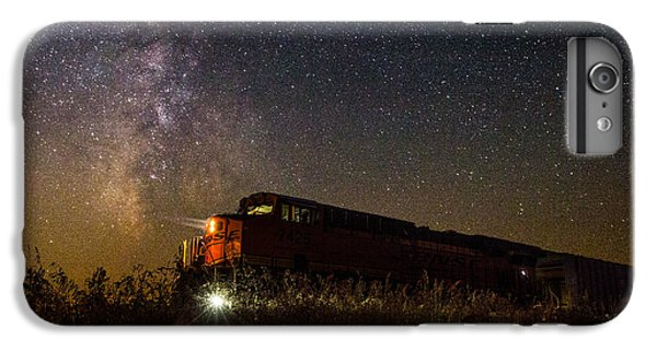 Train To The Cosmos IPhone 6 Plus Case by Aaron J Groen