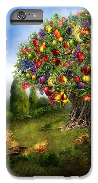 Tree Of Abundance IPhone 6 Plus Case by Carol Cavalaris