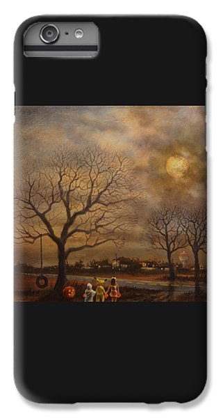 Trick-or-treat IPhone 6 Plus Case by Tom Shropshire
