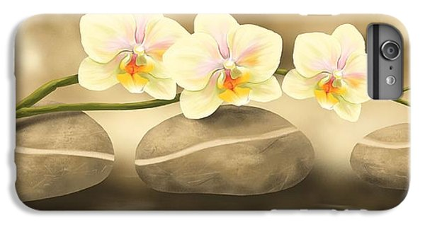 Orchid iPhone 6 Plus Case - Trilogy by Veronica Minozzi