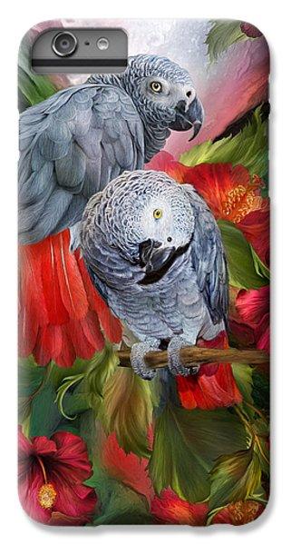 Tropic Spirits - African Greys IPhone 6 Plus Case