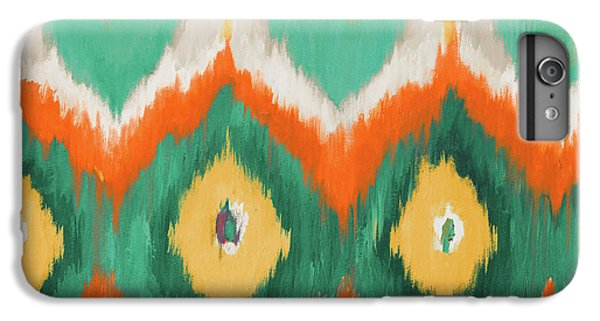 Green iPhone 6 Plus Case - Tropical Ikat II by Patricia Pinto