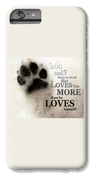 True Love - By Sharon Cummings Words By Billings IPhone 6 Plus Case