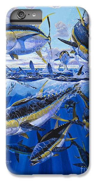 Salmon iPhone 6 Plus Case - Tuna Rampage Off0018 by Carey Chen