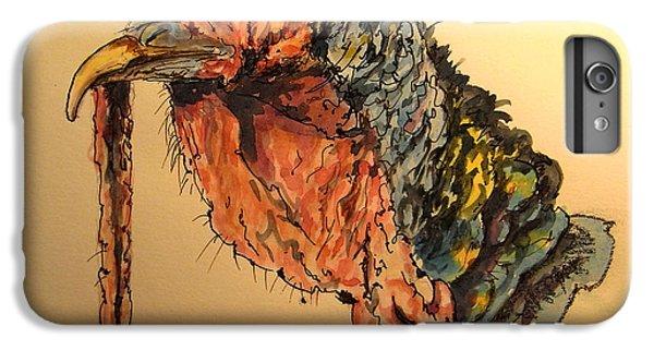 Turkey iPhone 6 Plus Case - Turkey Head Bird by Juan  Bosco