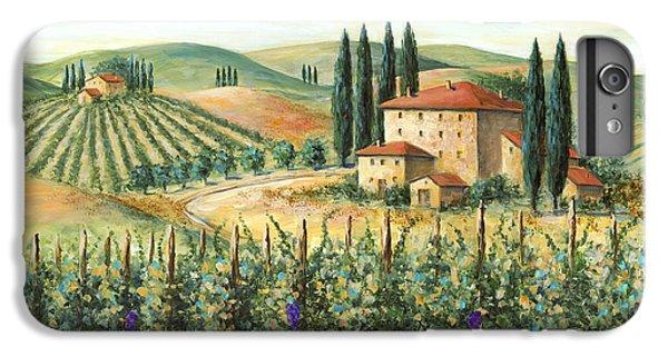 Tuscan Vineyard And Villa IPhone 6 Plus Case