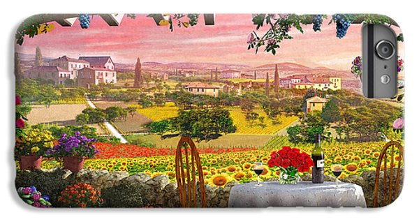 Tuscany Hills IPhone 6 Plus Case by Dominic Davison