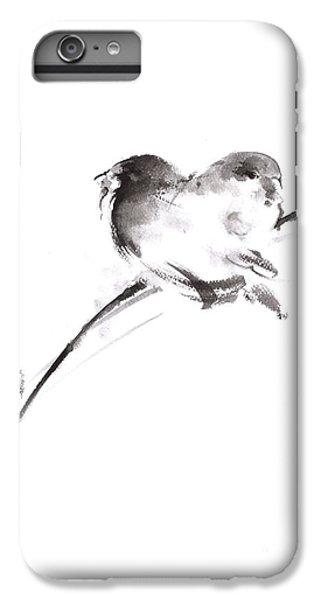 Two Birds Minimalism Artwork. IPhone 6 Plus Case by Mariusz Szmerdt
