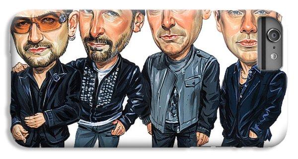 U2 IPhone 6 Plus Case by Art