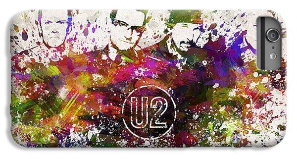 U2 In Color IPhone 6 Plus Case
