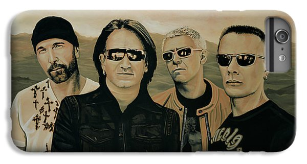 U2 Silver And Gold IPhone 6 Plus Case