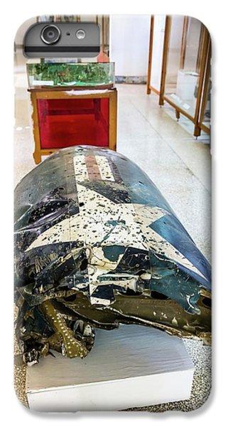 U2 Spy Plane Engine Wreck IPhone 6 Plus Case by Peter J. Raymond