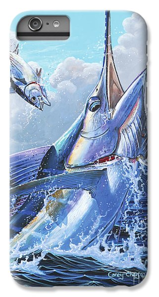 Sharks iPhone 6 Plus Case - Unexpected Off0093 by Carey Chen
