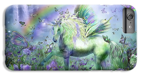 Unicorn Of The Butterflies IPhone 6 Plus Case