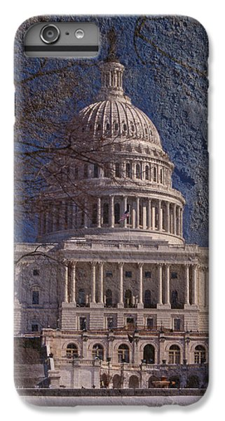 Whitehouse iPhone 6 Plus Case - United States Capitol by Skip Willits