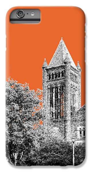 University Of Illinois 2 - Altgeld Hall - Coral IPhone 6 Plus Case by DB Artist