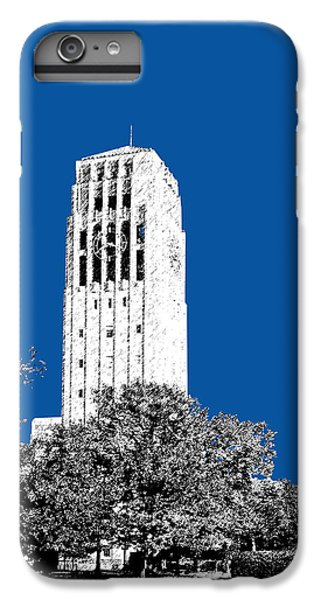 University Of Michigan - Royal Blue IPhone 6 Plus Case by DB Artist