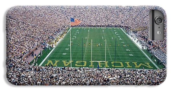 University Of Michigan Football Game IPhone 6 Plus Case by Panoramic Images