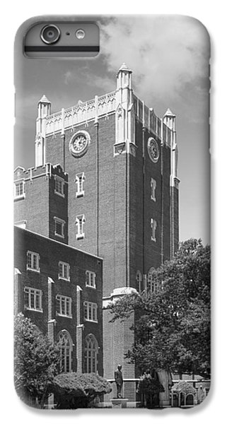University Of Oklahoma Union IPhone 6 Plus Case by University Icons