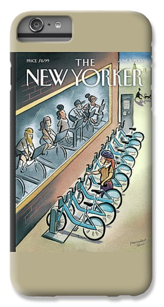 Workout iPhone 6 Plus Case - New Yorker June 3, 2013 by Marcellus Hall