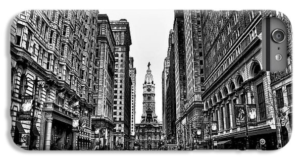 Urban Canyon - Philadelphia City Hall IPhone 6 Plus Case by Bill Cannon
