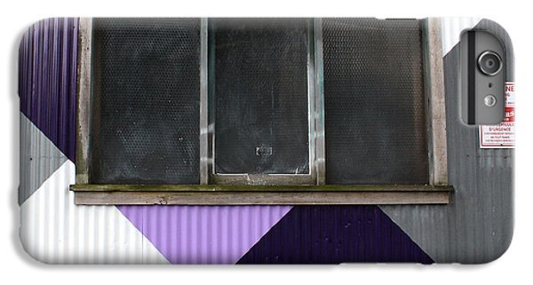 Urban Window- Photography IPhone 6 Plus Case by Linda Woods