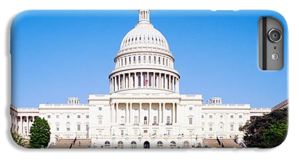 Capitol Building iPhone 6 Plus Case - Us Capitol, Washington Dc, District Of by Panoramic Images