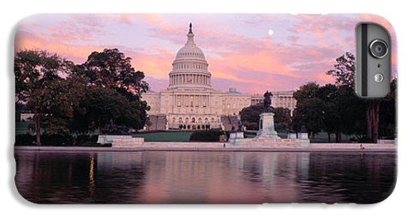 Capitol Building iPhone 6 Plus Case - Us Capitol Washington Dc by Panoramic Images