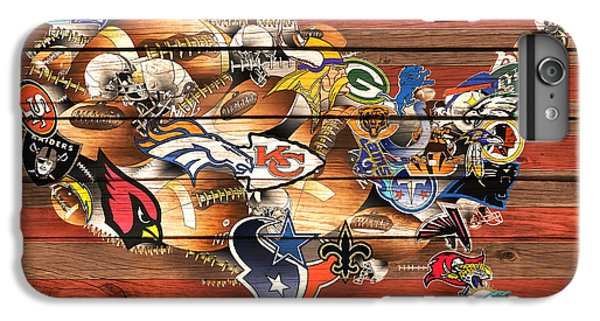 Usa Nfl Map Collage 10 IPhone 6 Plus Case