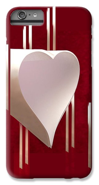 Valentine Paper Heart IPhone 6 Plus Case by Gary Eason