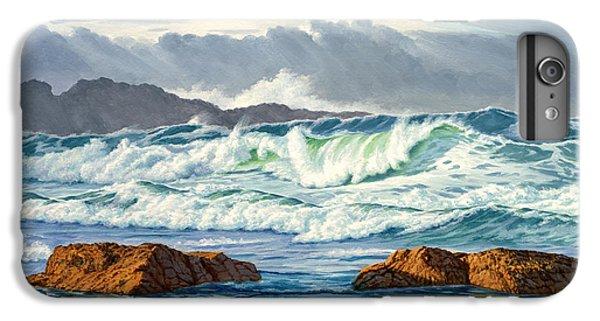 Pacific Ocean iPhone 6 Plus Case - Vancouver Island Surf by Paul Krapf