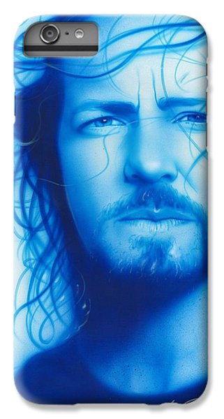 Eddie Vedder - ' Vedder ' IPhone 6 Plus Case by Christian Chapman Art