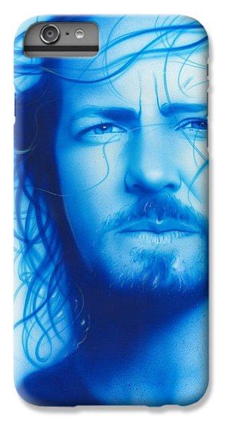 Eddie Vedder - ' Vedder ' IPhone 6 Plus Case by Christian Chapman Art