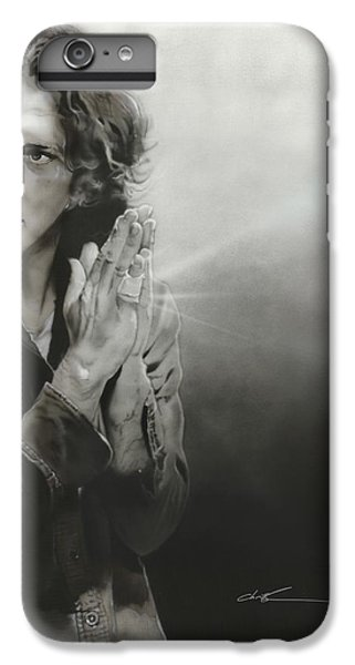 Eddie Vedder - ' Vedder Iv ' IPhone 6 Plus Case by Christian Chapman Art