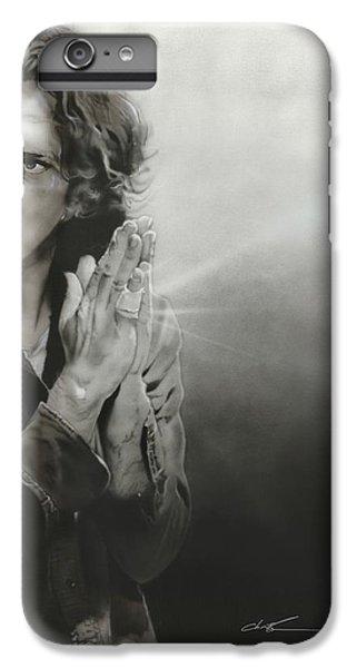 Eddie Vedder - ' Vedder Iv ' IPhone 6 Plus Case by Christian Chapman Art