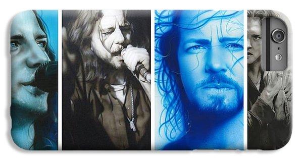 Eddie Vedder - ' Vedder Mosaic I ' IPhone 6 Plus Case by Christian Chapman Art