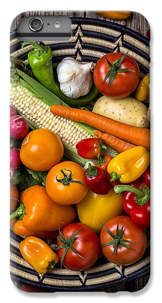 Vegetable Basket    IPhone 6 Plus Case by Garry Gay