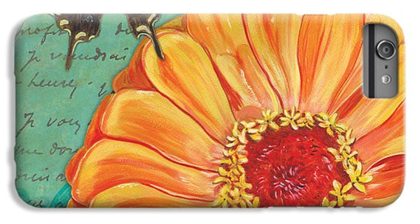 Verdigris Floral 1 IPhone 6 Plus Case by Debbie DeWitt