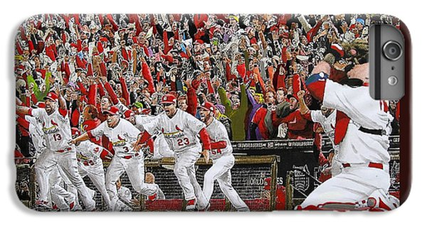 Victory - St Louis Cardinals Win The World Series Title - Friday Oct 28th 2011 IPhone 6 Plus Case
