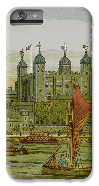 Tower Of London iPhone 6 Plus Case - View Of The Tower Of London by British Library