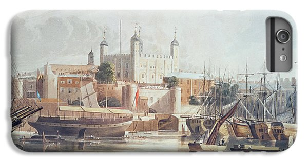 View Of The Tower Of London IPhone 6 Plus Case by John Gendall