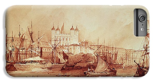 View Of The Tower Of London IPhone 6 Plus Case by William Parrott