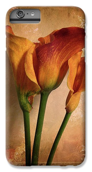 Lily iPhone 6 Plus Case - Vintage Calla Lily by Jessica Jenney