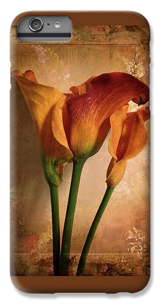 IPhone 6 Plus Case featuring the photograph Vintage Calla Lily by Jessica Jenney